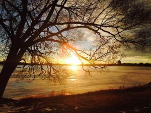 Sunrise at Sloan's Lake